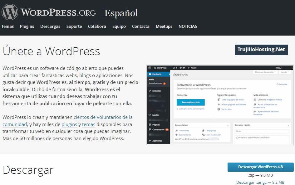 Como Instalar WordPress en xampp | TrujilloHosting