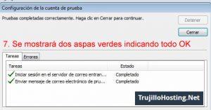 Configurar cuenta de correo en Microsoft Outlook