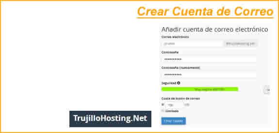 Crear Cuenta de Correo Electrónico en cPanel